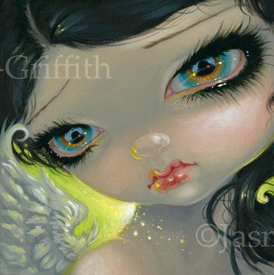 Fairy Faces 202 Jasmine Becket Griffith Art Faery Dust Angel