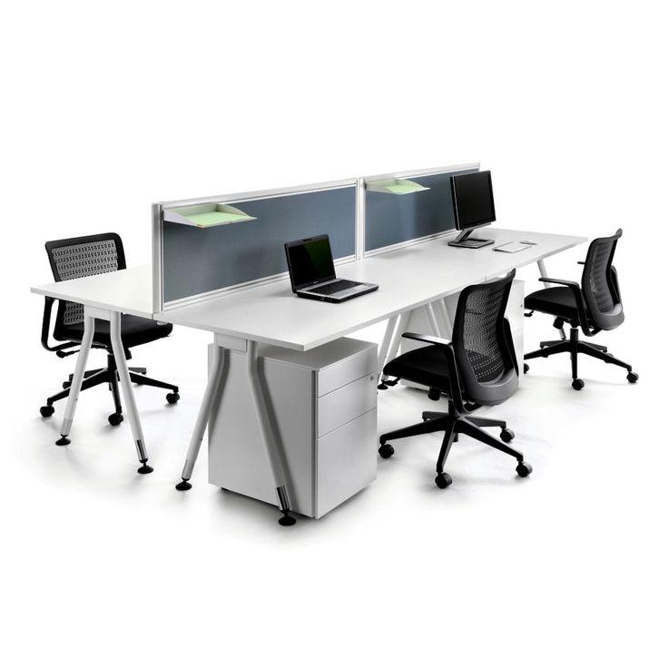 Vee Bench office bench desks