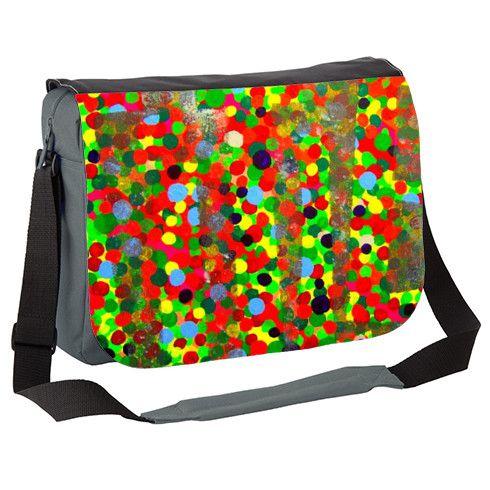 A Colourful Title Messenger Bag by hoganfinland at zippi.co.uk