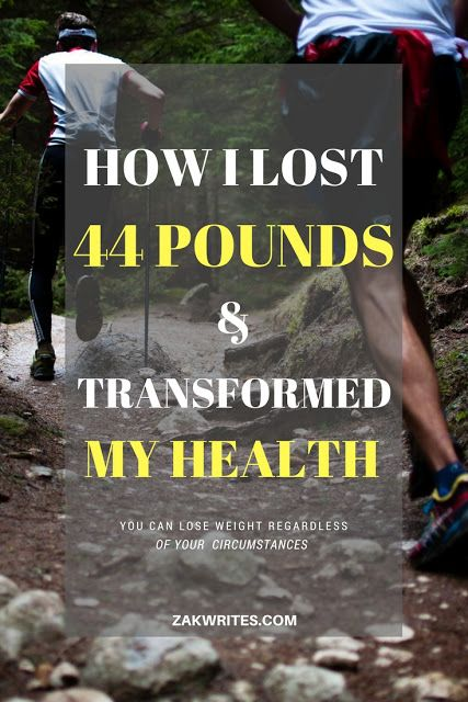 How I Lost 44 Pounds In One Year And Transformed My Health | Zak Writes - Professional Writer And Author