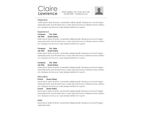 10 best printable resumes images on pinterest