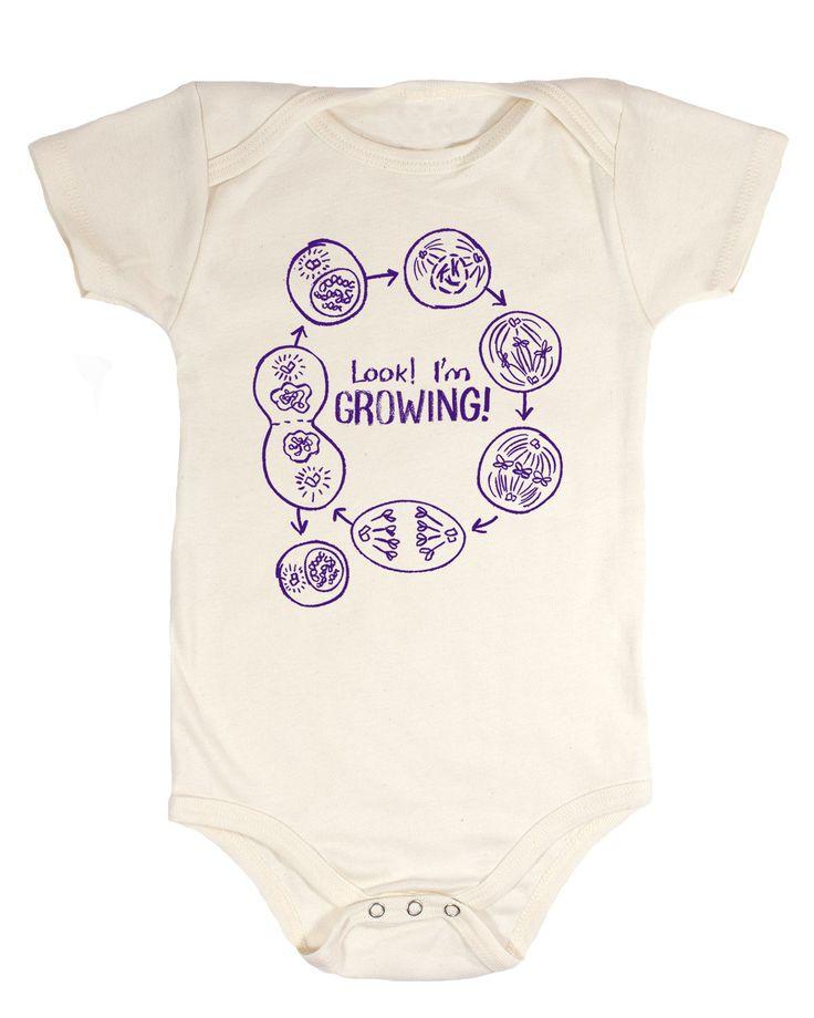 Mitosis I'm Growing Babysuit