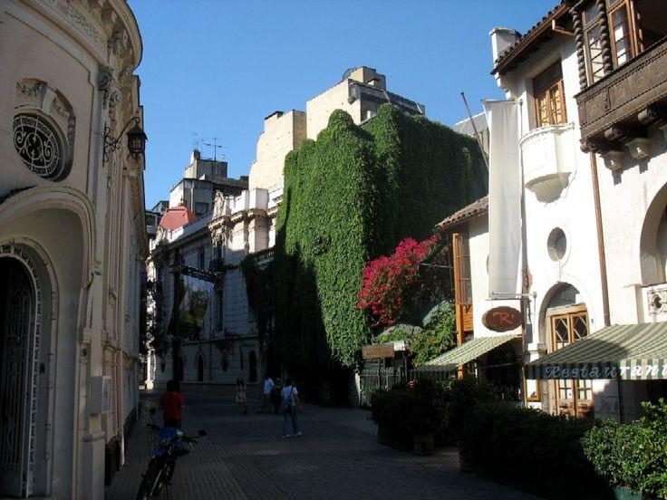 Sector del Barrio Lastarria, Santiago, Chile. Sólo estilo