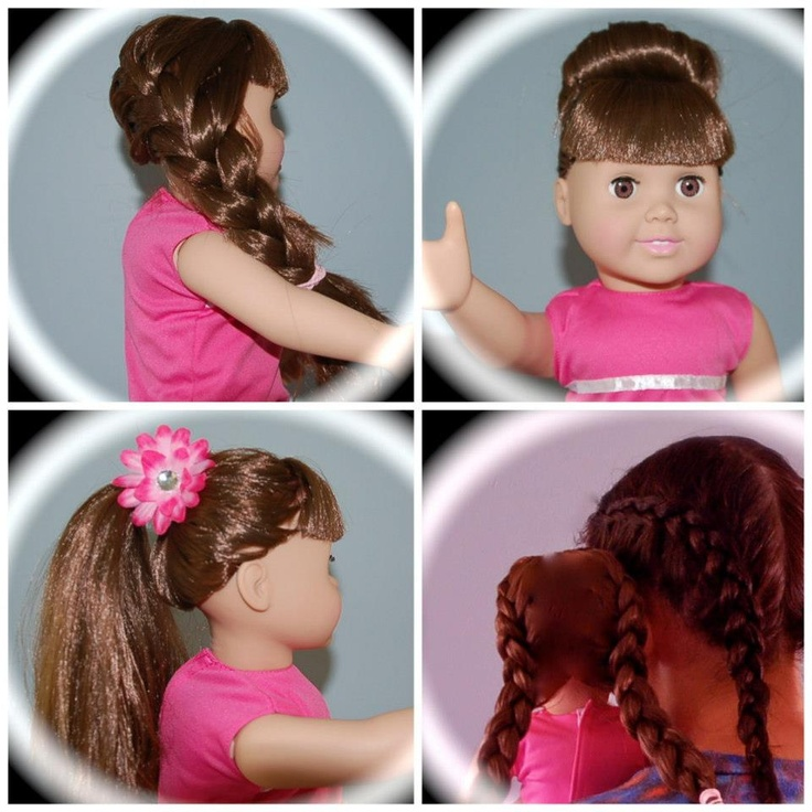 17 Best images about Hairstyles for Dolls on Pinterest | Our generation dolls, Headband tuck and ...