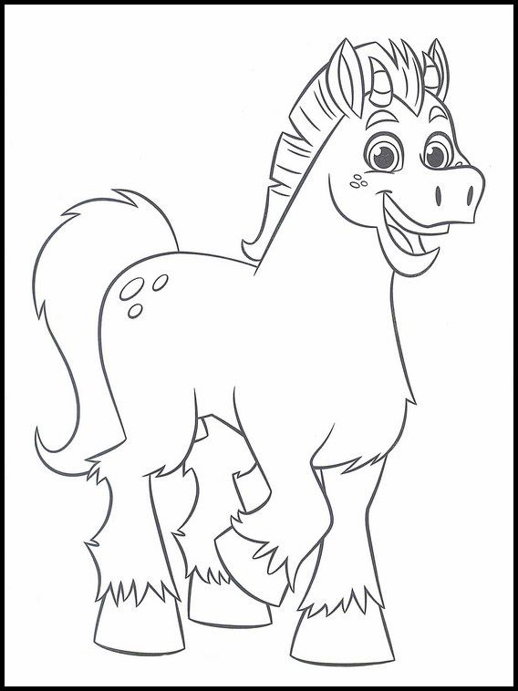 Nella The Princess Knight 6 Printable Coloring Pages For Kids