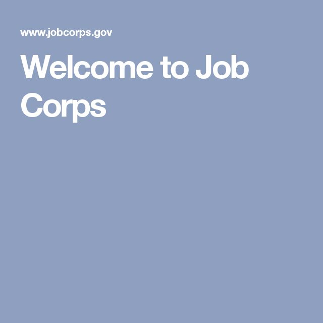 Welcome to Job Corps