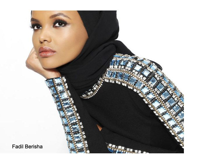HALIMA ADEN - Born into a refugee camp and immigrating to the US at age six, the 19 year old Somali-American has a personal mission to put forth positive role model images of Muslim women