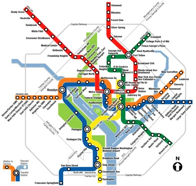 The Unofficial DC Metro Travel Etiquette Guide...things I have to deal with while riding the metro