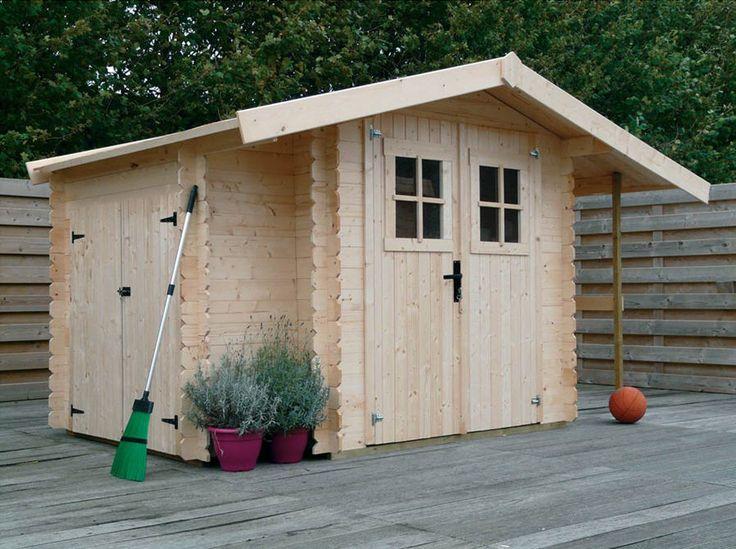 Soldes abri de jardin la redoute achat abri de jardin 8 45 m h j habita - Achat abri de jardin ...