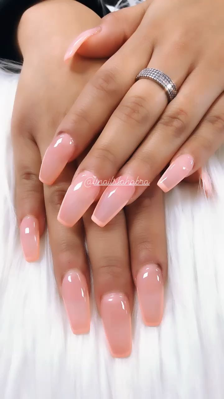French Line In 2020 Hard Gel Nails Lines On Nails Gel Nails