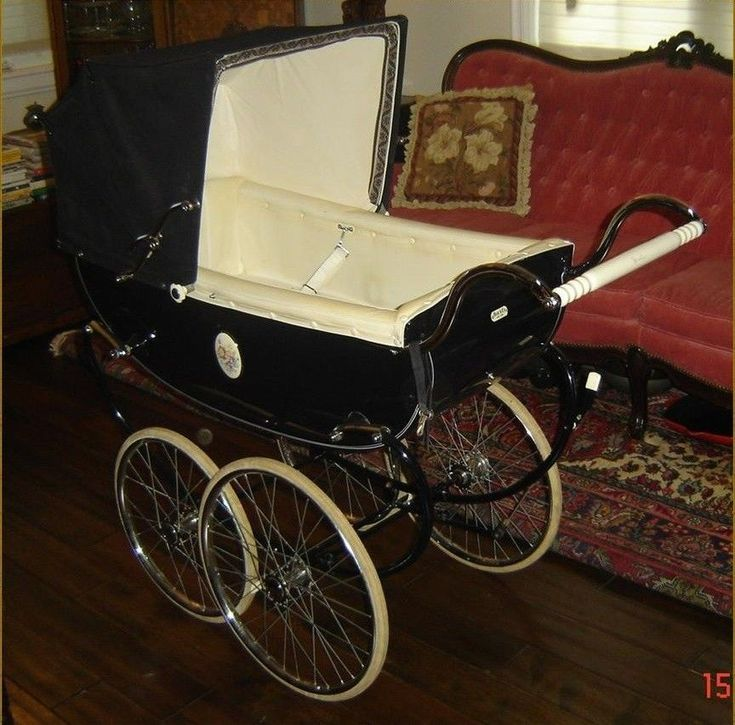 VINTAGE ENGLAND SILVER CROSS WINCHESTER PRAM CARRIAGE C.1950s STUNNING & RARE  #SILVERCROSS