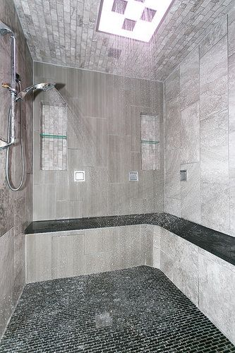 41 Best Tile Shower Ideas Images On Pinterest Bathroom