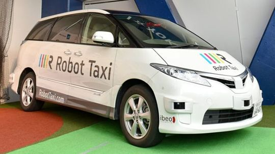 Onewstar: In Giappone i taxi senza tassista