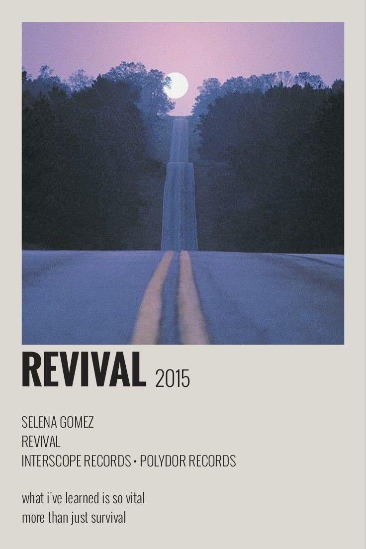 Revival Polaroid Poster 2021