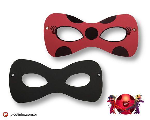 Máscaras de EVA - Miraculous / Ladybug