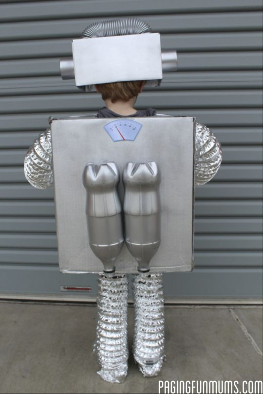 DIY Robot Costume More
