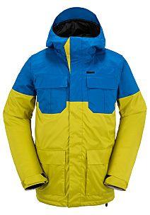 Volcom Alternate Ins - Anorak de snowboard para Hombres - Azul