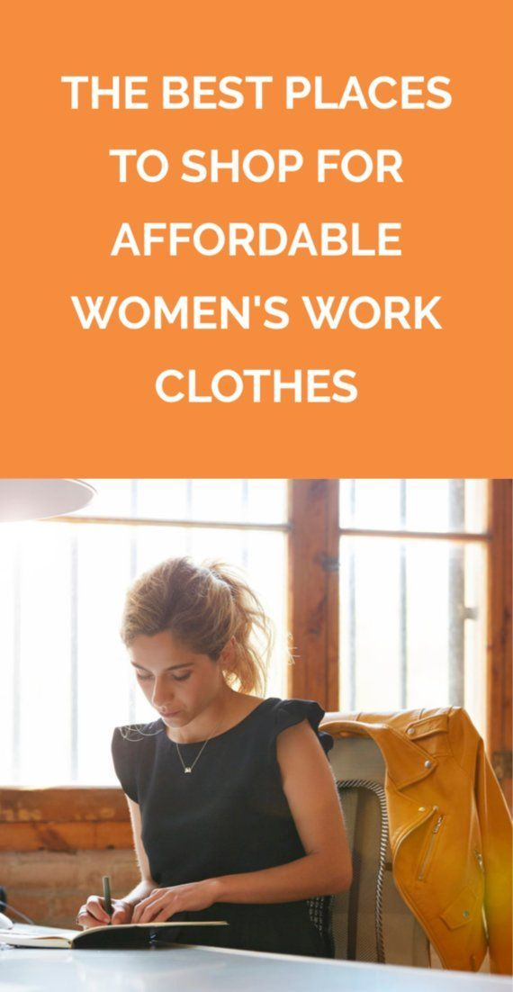 14 Stylish Sites To Shop For Affordable Women S Work Clothes