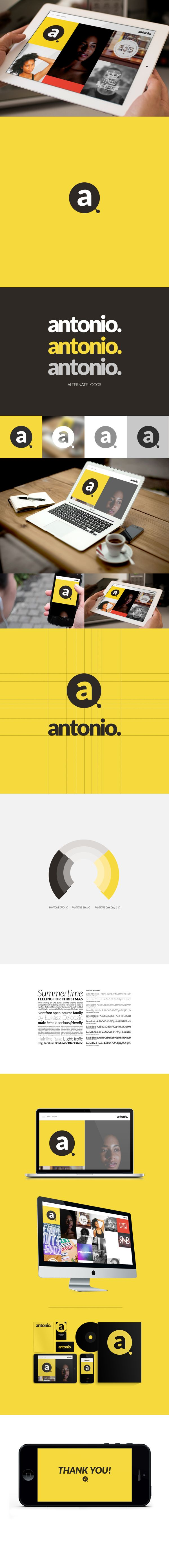 Self Branding by Antonio DeVon Johnson, via Behance