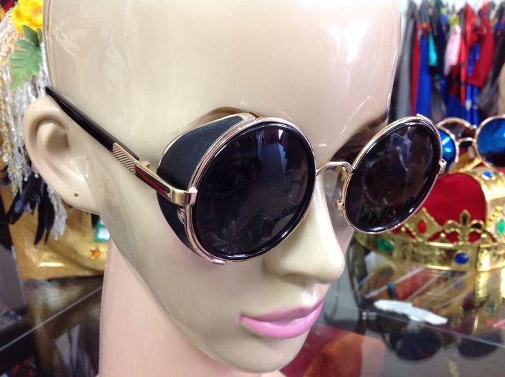 Steam Punk Black Sun Glasses $15