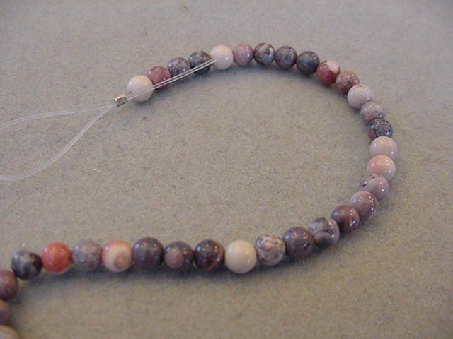 Destash Porcelain Jasper beads 4mm round beads full strand porcelain jasper 50 beads by Magicclosetbling on Etsy