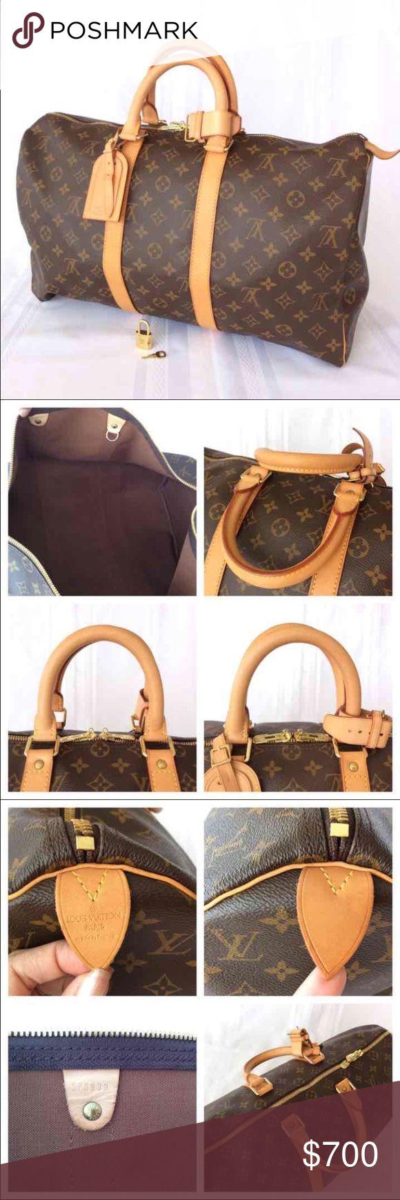 Louis Vuitton Keepall 45 Excellent condition Louis Vuitton Bags Travel Bags