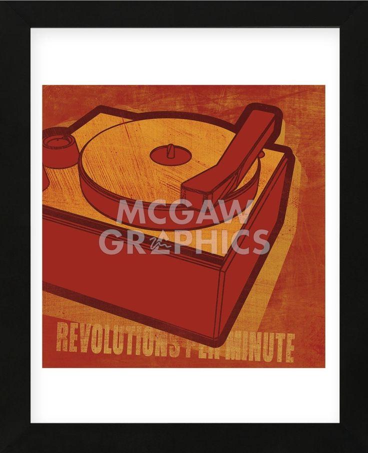 Revolutions per Minute (Framed)
