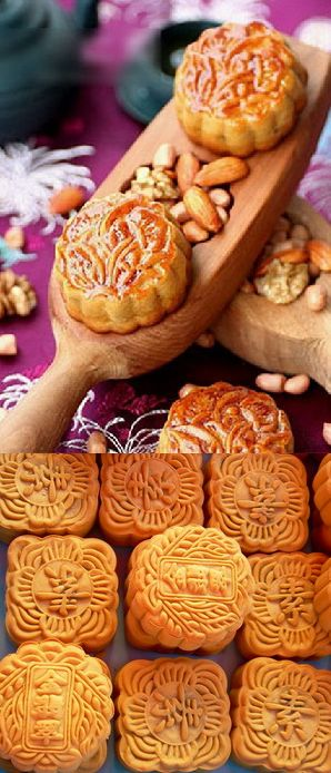 Moon Festival - Chinese Moon Cakes, always wanted to make these :)