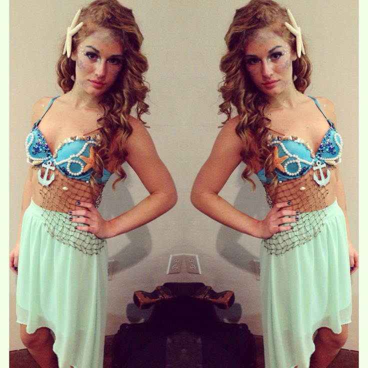 My mermaid costume for Halloween ✨