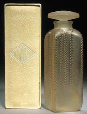 R. Lalique for d'Orsay - 'Triomphe' Perfume Bottle - 1920