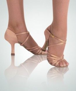 Latin dance shoes have a flexible bottom to give you greater range of motion than non-dance shoes