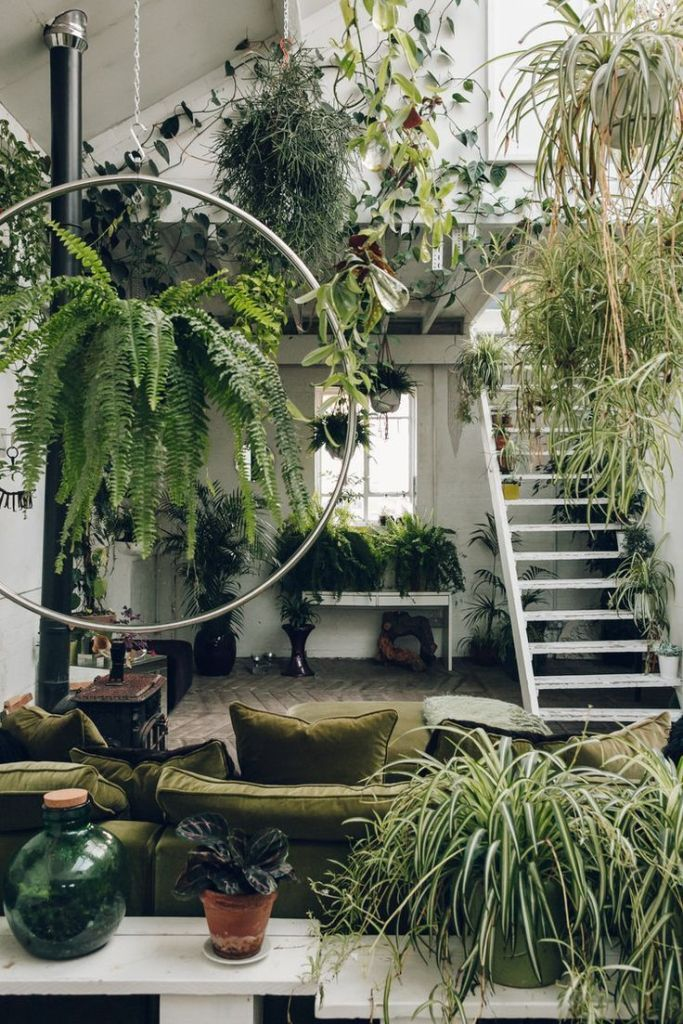 Interior Design Trends For 2020 Indoor Gardens Interior Trends In 2020 Bedroom Plants House Plants Indoor Living Room Plants