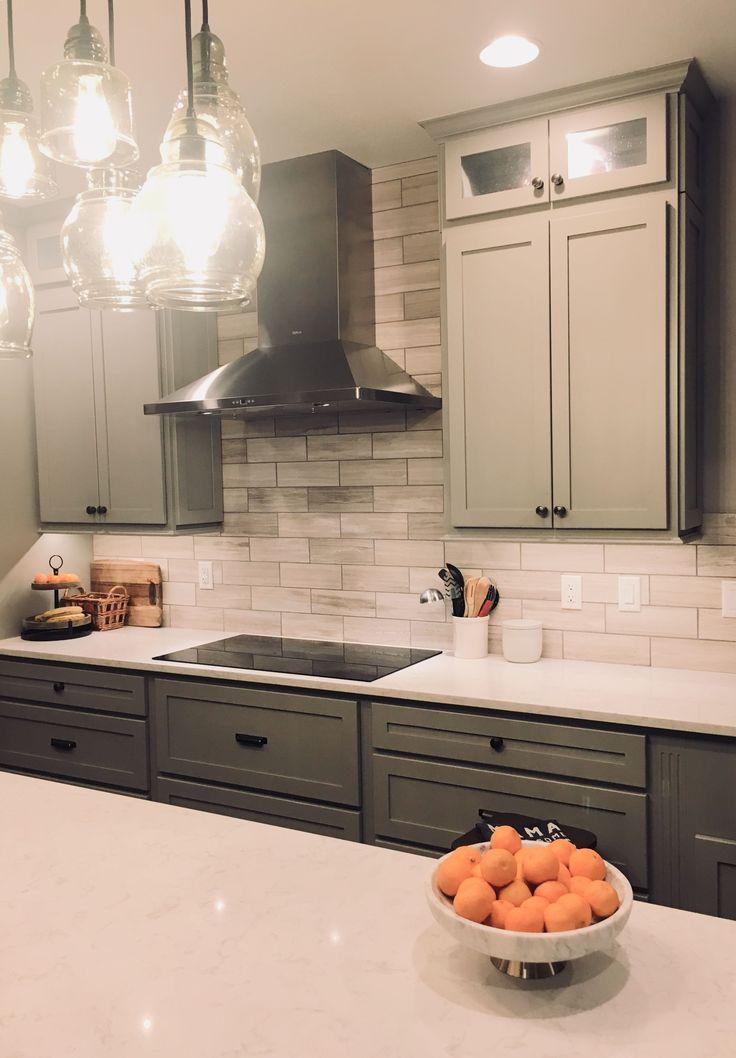 Remodeled kitchen. Potterybarn cluster pendants, Boulder ...