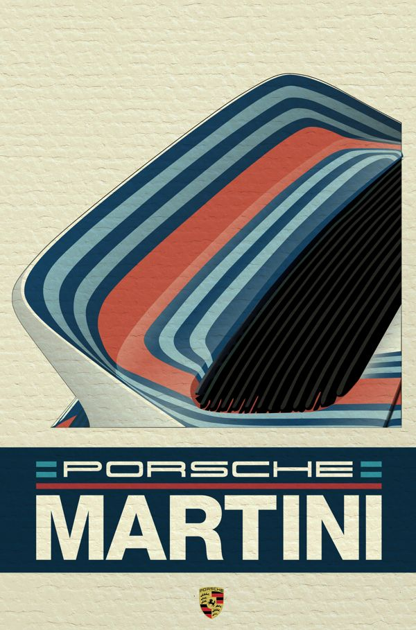 Can only be Martini. Those racing stripes so iconic. This is why design is so important.