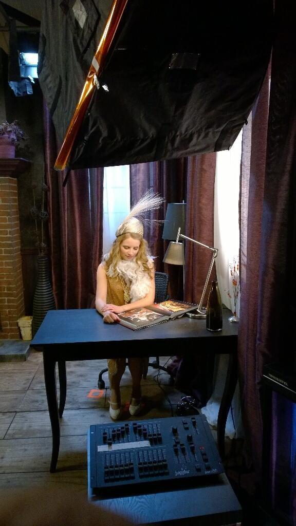Η πρωταγωνίστρια έτοιμη! Live εκπαίδευση 4Κ rec, ιδιαίτερα δύσκολη λόγω της υπερυψηλής ανάλυσης... #Sony 4K Event | Pinewood Studios, UK