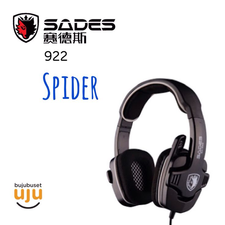 Sades 922 - Spider IDR 364.999  (For: PC, PS3, PS4, Xbox)