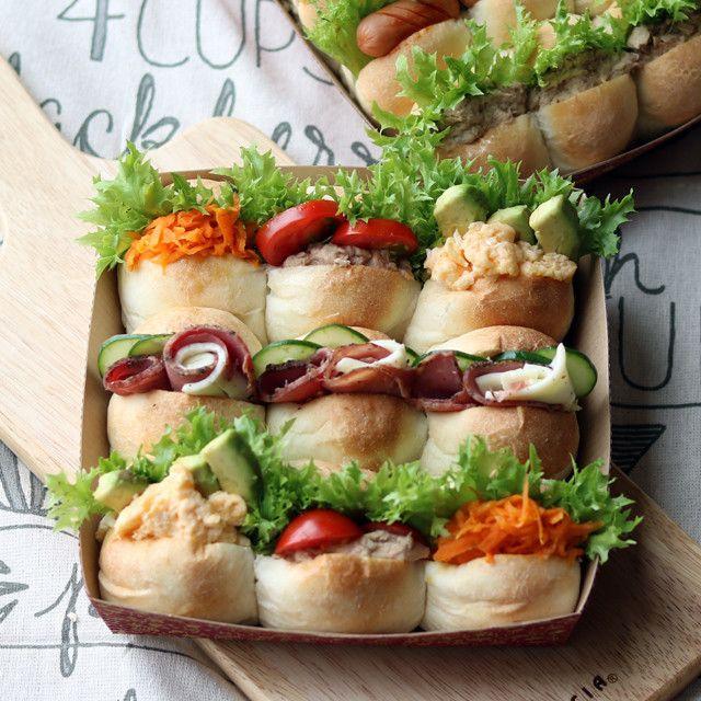 新緑の季節はピクニック 簡単華やかサンドイッチレシピ