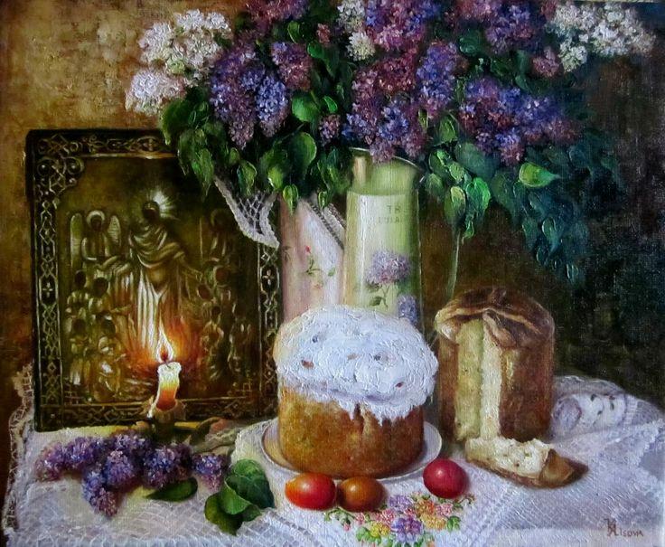 Лысова Екатерина Григорьевна. Пасхальный свет