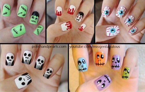 Halloween nail ideas ★