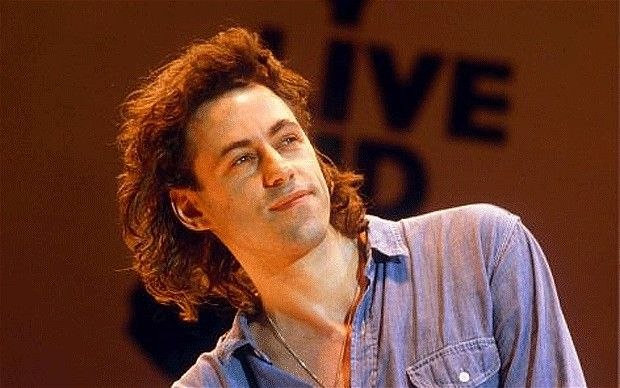 Bob Geldof, former leader of the Irish rock band The Boomtown Rats, is also a hero to me and will always be one of my all-time favourites.  http://www.bobgeldof.com