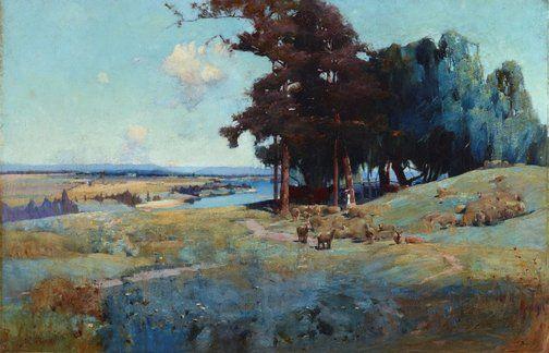 Sydney Long (Australia, England 20 Aug 1871–23 Jan 1955)
