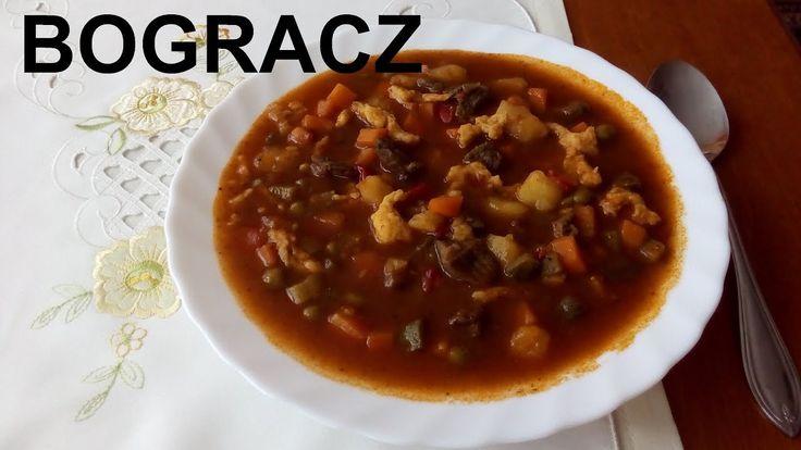 Bogracz  - Węgierska zupa gulaszowa / Ślązaczka Halinka /