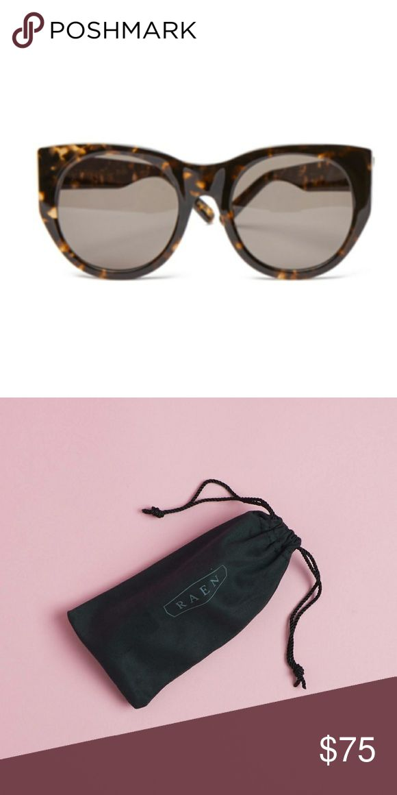 "Raen Durante ""Tortoise"" Sunglasses Raen Durante ""Tortoise"" Sunglasses   -cat eye look -new with dust bag Raen Accessories"