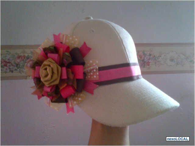 gorras decoradas con cinta - Buscar con Google                                                                                                                                                      Más