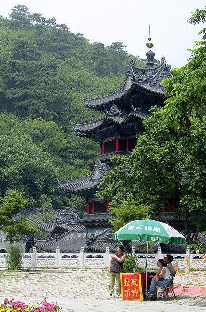 Mountain Temple near Anshan  ChinaChina Mountain Temple