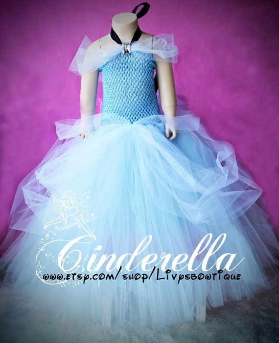 Pre Order Cinderella tutu dress. Gorgeous, perfect for Birthday's, Halloween or Dress up. Newborn-6t