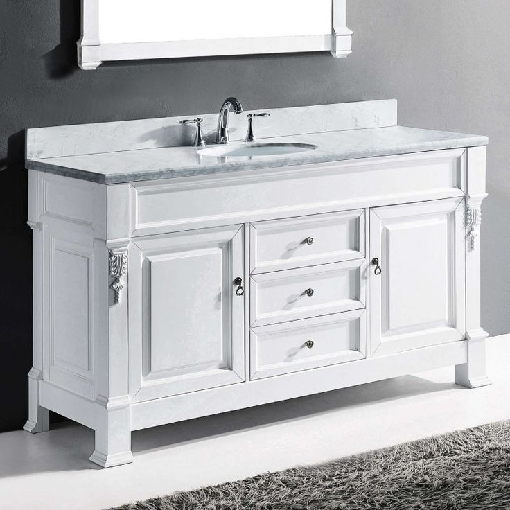 Pictures In Gallery Double Bathroom Vanity Set Round Sink GD