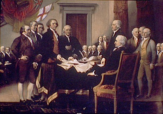 What became of the 56 signers of the Declaration of Independence? What was the price paid by these men for putting their beliefs and actions into practice. The price that they paid was very expensive.