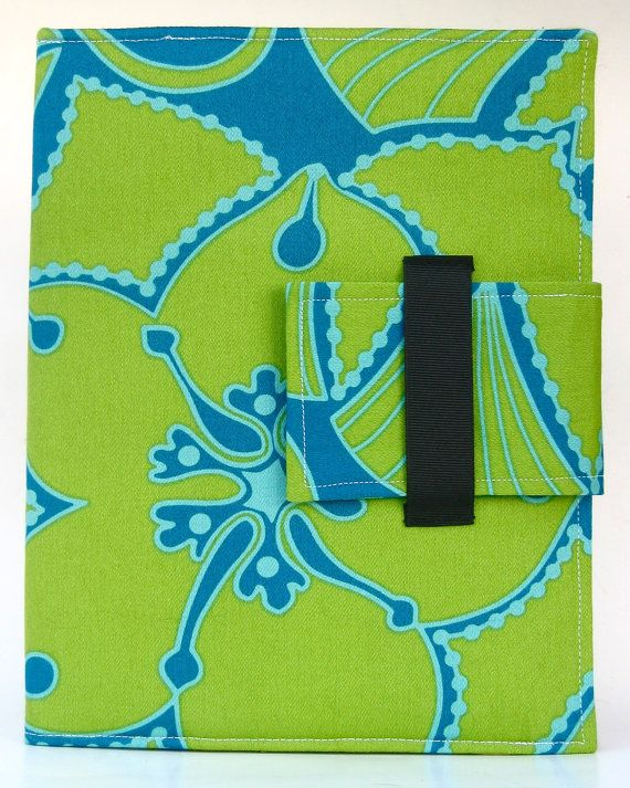 iPad Case vouwen cover of stand in Bright Blue door hpfrosting