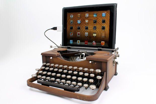 USB Typewriter Machine à écrire connectée !!